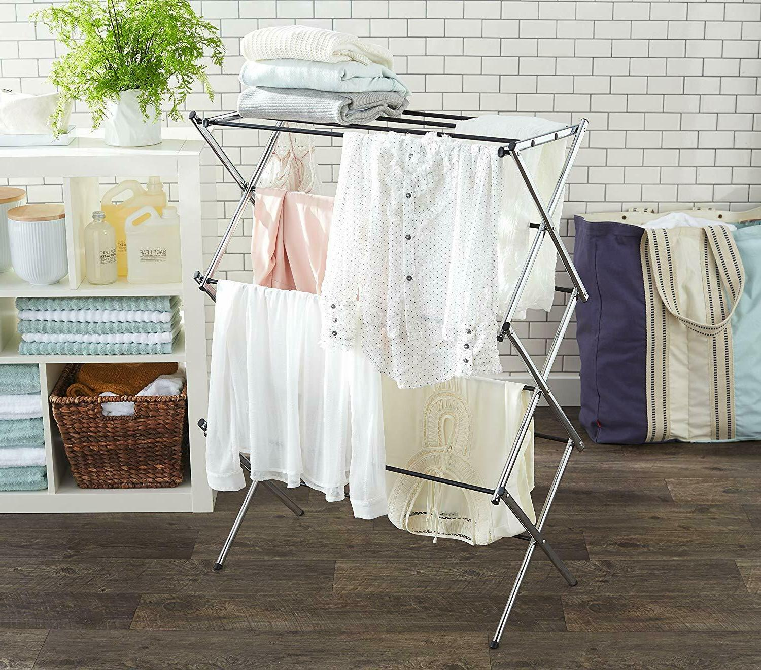 AmazonBasics Foldable Laundry Rack