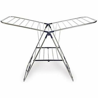 Foldable Clothes Drying Rack Portable Laundry Stand Hanger S