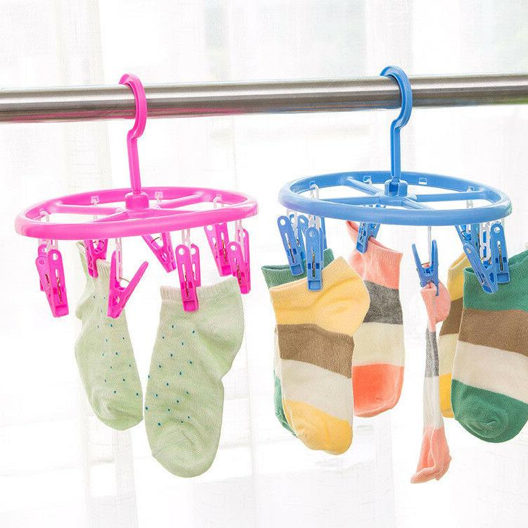Foldable Hanger Clip Drip Drying Pant