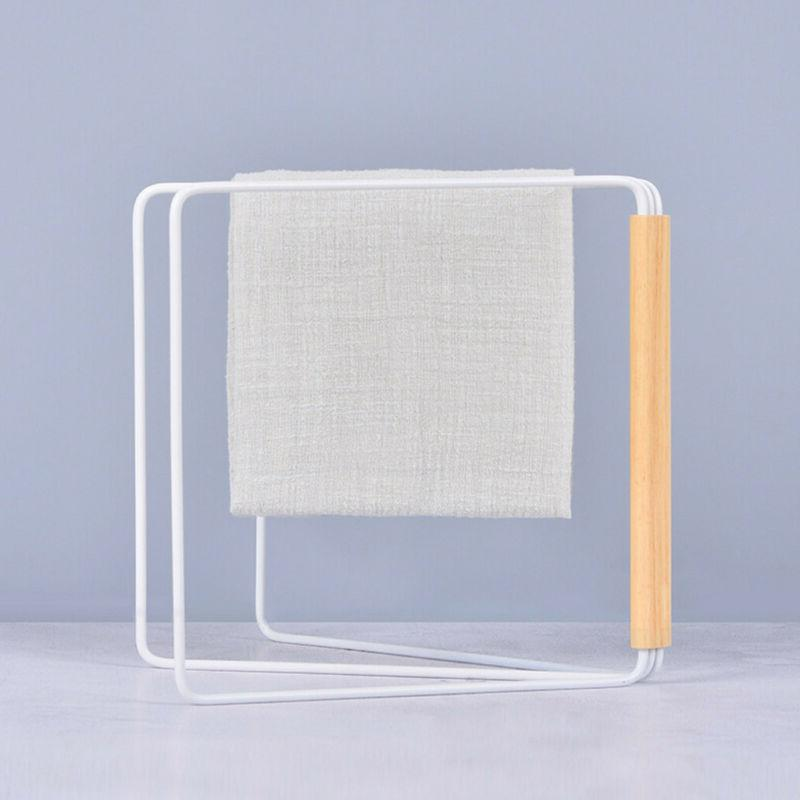 Collapsible Kitchen Bathroom Towel Drying Rack Stand Washing