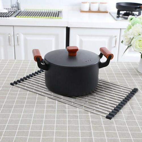 Foldable Up Drying Steel Silicone Matt
