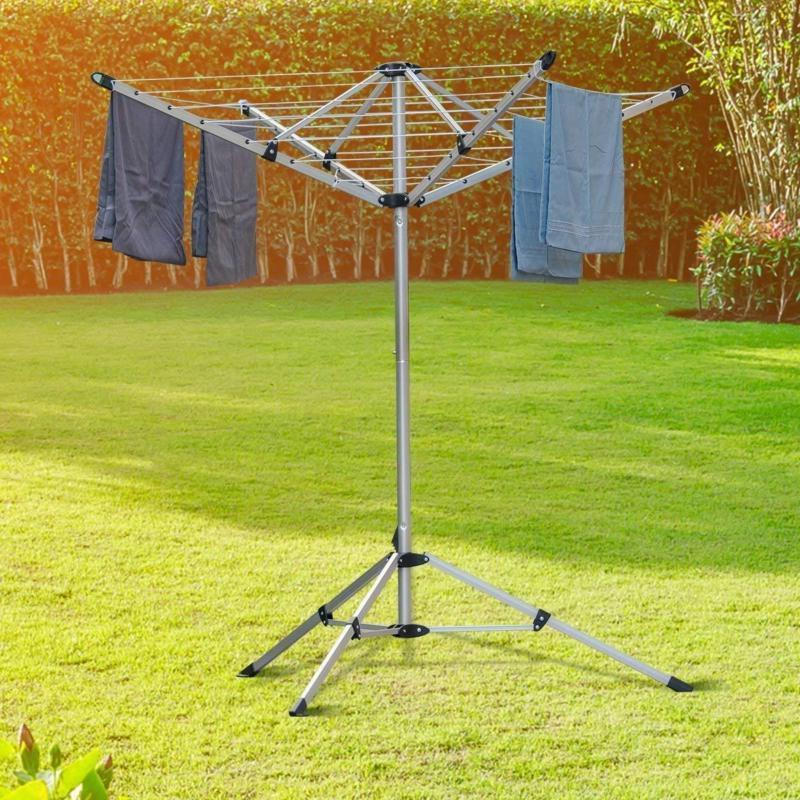Drynatural Drying Rack Dryer For Laundry 4 Arm 28 Line