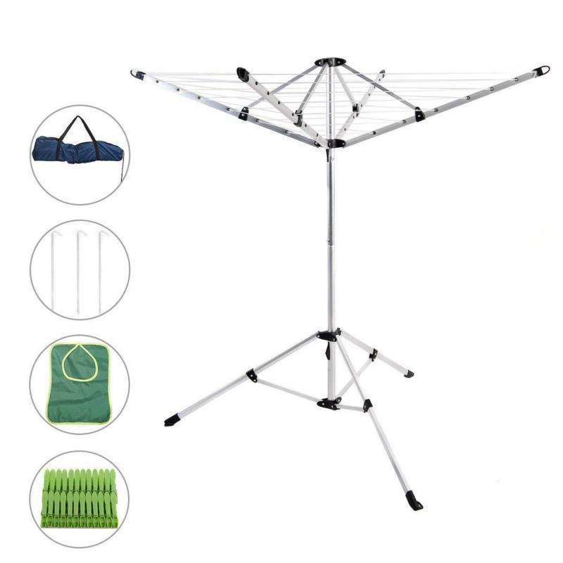 Drynatural Umbrella Rack Clothes Laundry Line