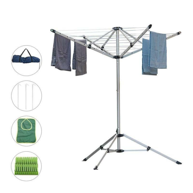 foldable umbrella drying rack clothes dryer
