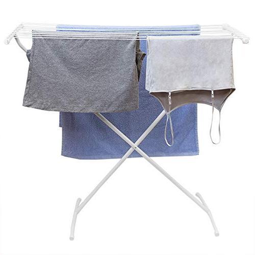 Sunbeam Folding Rod Metal Clothes Drying Rack,