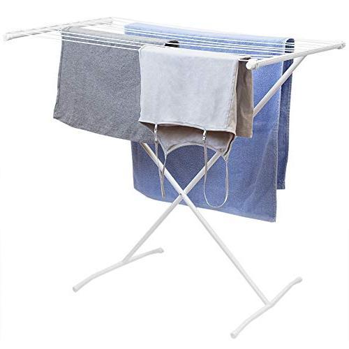 folding 10 rod metal hanging