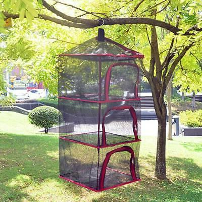 Folding Air Drying Outdoor Camping Hanging Outdoor Mesh