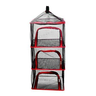 Folding Air Net Outdoor Camping Hanging Outdoor BBQ Rack Mesh