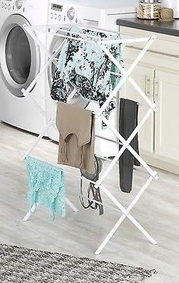 Folding Clothes Drying Rack, Organize,Laundry,Storage,Kitche