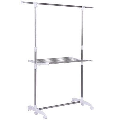 Folding Drying Rolling Hanger Laundry Clothes