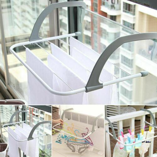 Folding Drying Portable Hanger Laundry Airer