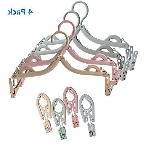 folding hangers portable drying rack