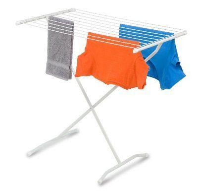 folding metal drying rack