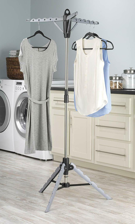 garment cloth and drying racks dry laundry