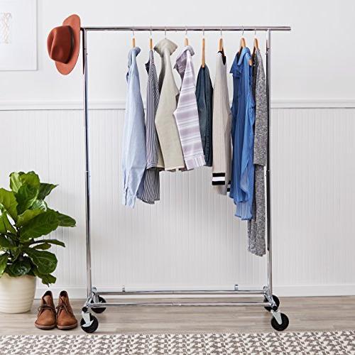 AmazonBasics Garment Rack Chrome