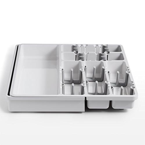 OXO Good Expandable Utensil Organizer Gray