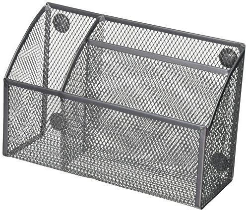 grey mesh magnetic 3 compartment