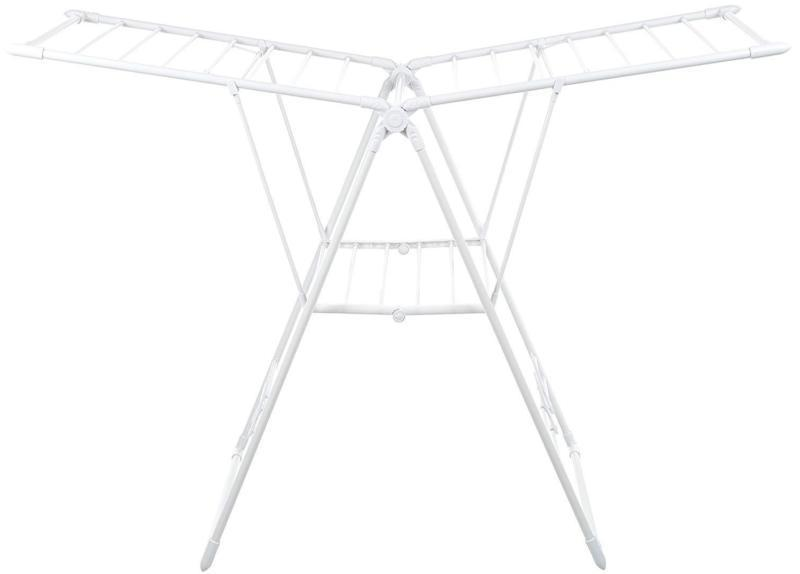gullwing clothes drying rack white