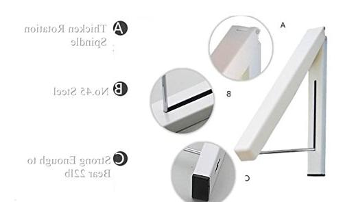 Laundry - Wall Rack| Storage Space Living Easy Installation -1 Kit Beige
