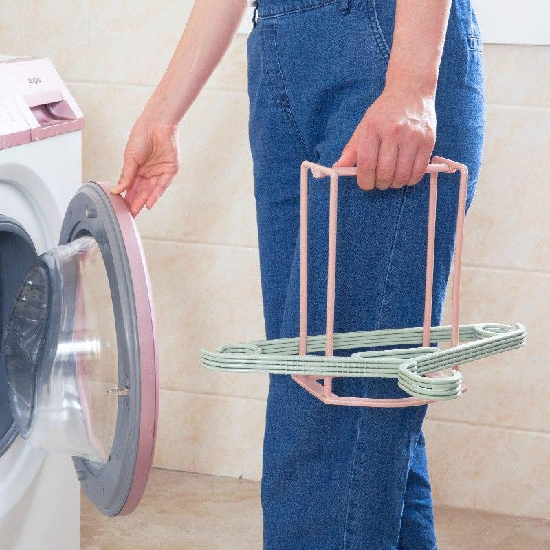 Hanger Stacker <font><b>Laundry</b></font> <font><b>Drying</b></font> to 30 Bathroom Cloth <font><b>Organization</b></font>