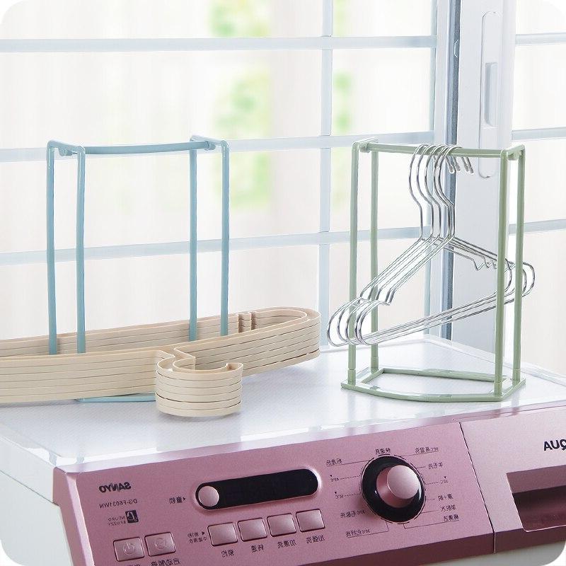 Hanger Stacker <font><b>Laundry</b></font> <font><b>Drying</b></font> up to Clothes Home Bathroom Cloth <font><b>Organization</b></font>