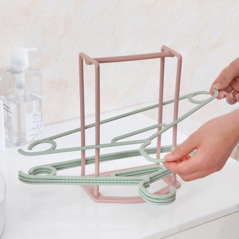 Hanger Stacker <font><b>Laundry</b></font> Room <font><b>Drying</b></font> Hold to 30 Clothes Home Bathroom