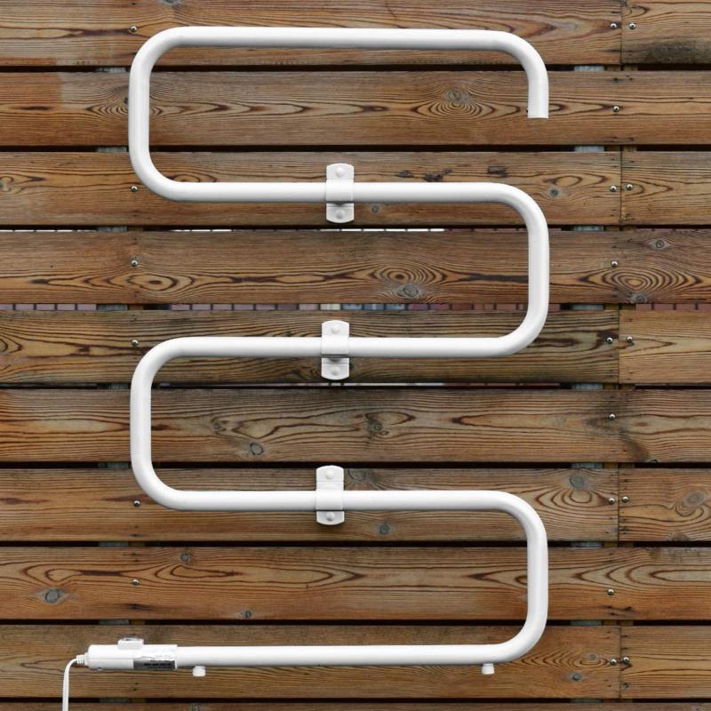 Heated Bar Rack Hang Clothes Wall