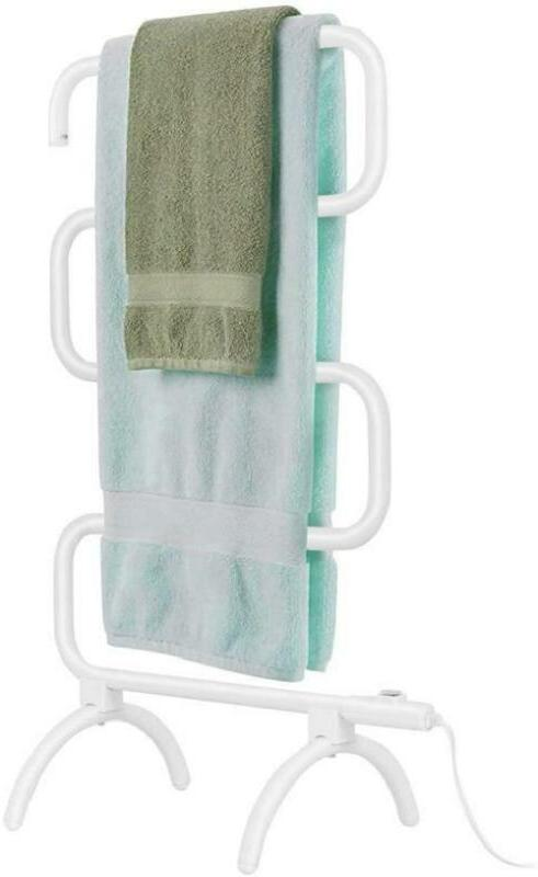 heated towel bar drying rack electric bathroom