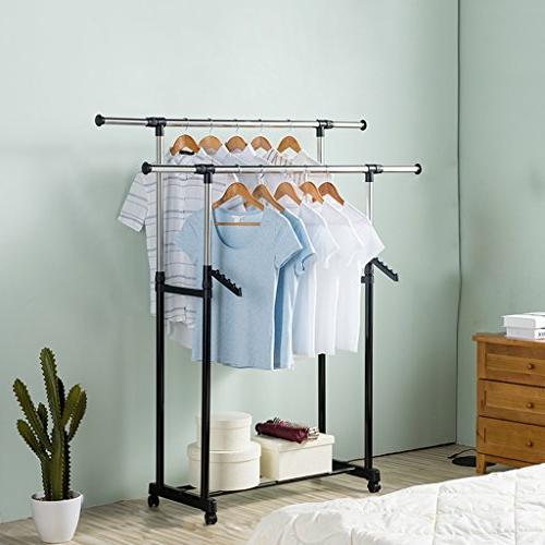 heavy duty garment rack commercial