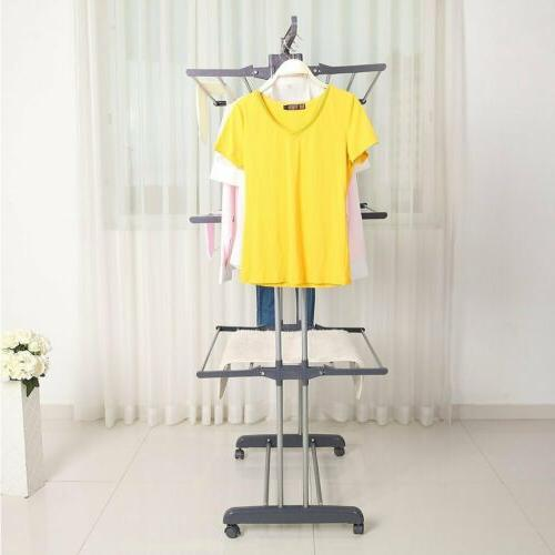 Heavy Duty Folding Dryer Hanger