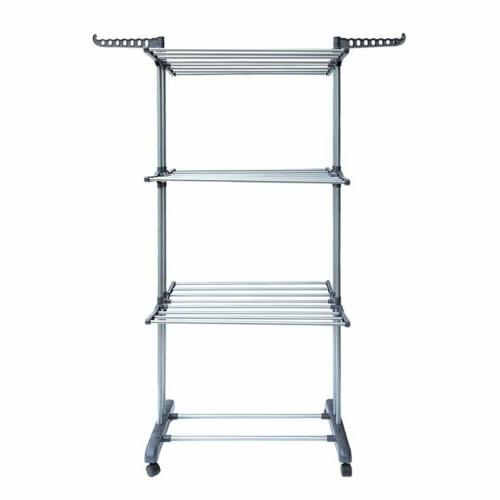 Heavy Laundry Storage Drying Rack Folding