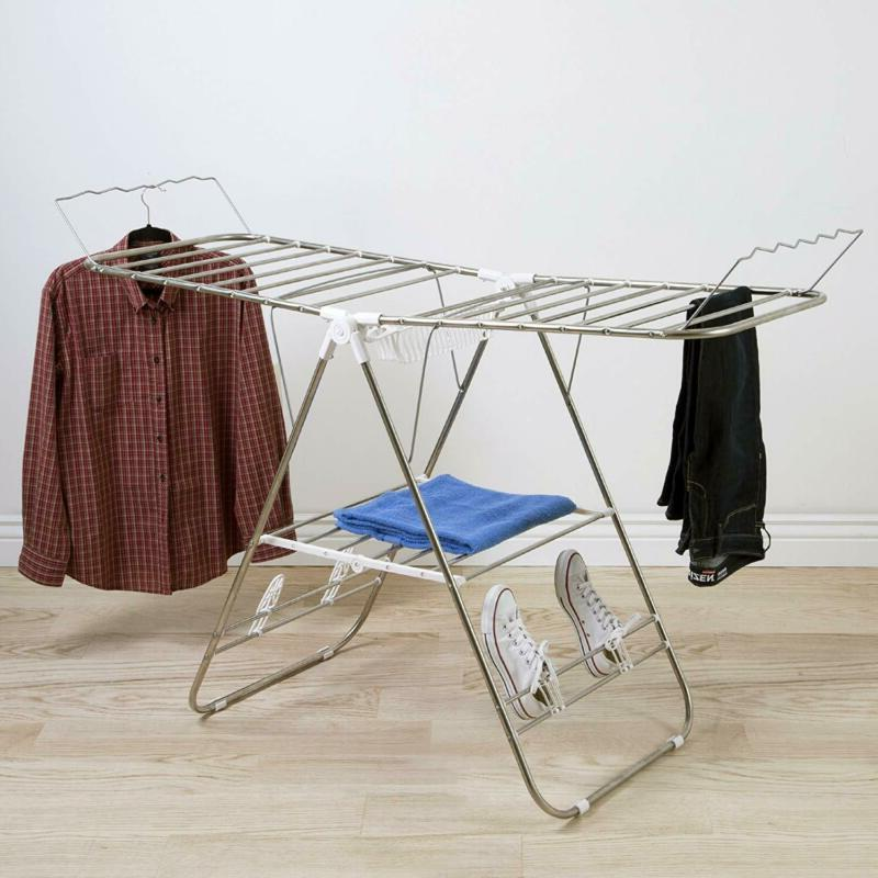 Heavy Rack- Stainless Clothing Shelf Ou