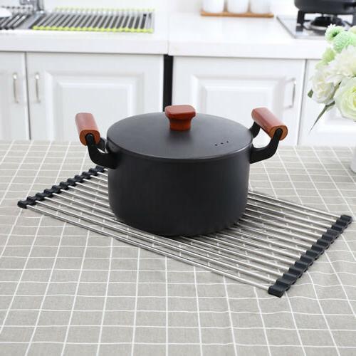 Heavy Drying Rack Kitchen Drain Board Tray Mat