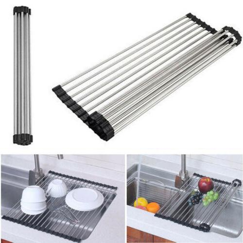 Over the Roll-Up Drying Pan Mat