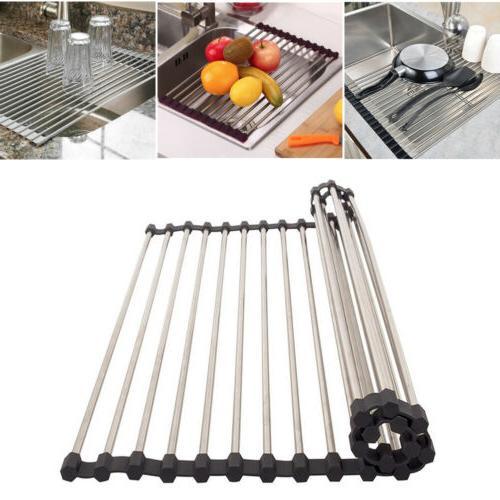 heavy duty sink drying rack kitchen dish