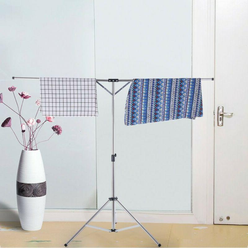 Folding Clothes Drying Rack Laundry Room Expandable Air Dry