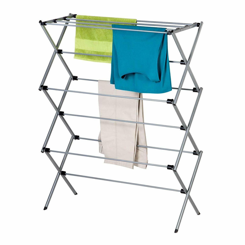 honey can do foldable drying rack metal