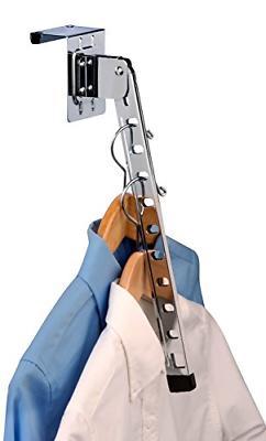 Honey-Can-Do HNG-01519 Over The Door Hanger Holder, Folding,
