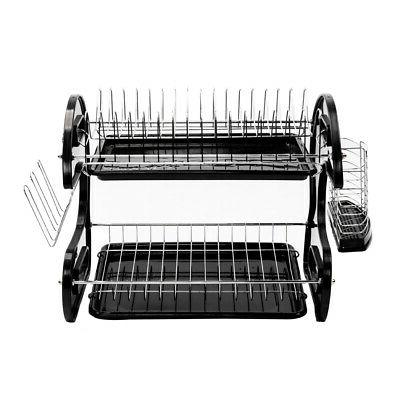Hot Kitchen Drying Tray Cutlery Holder Organizer