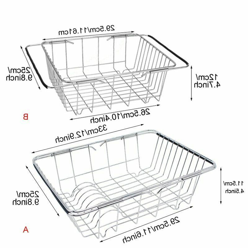 In Sink Drying Rack Drainer Over Sink Small Spaces Inside Hanging