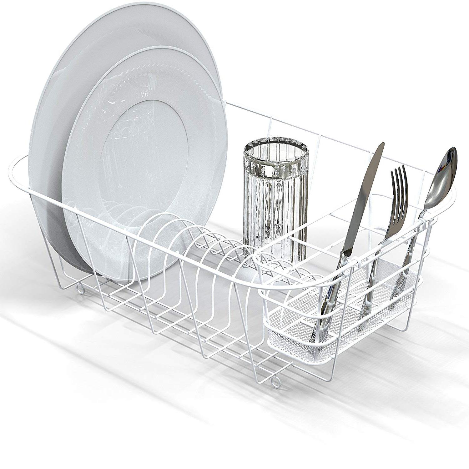 In Sink Dish Drying Rack Small Compact Drainer