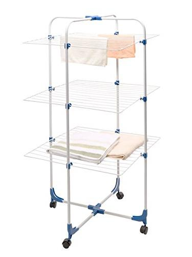 STORAGE MANIAC Indoor/Outdoor Clothes Rolling Adjustable Laundry
