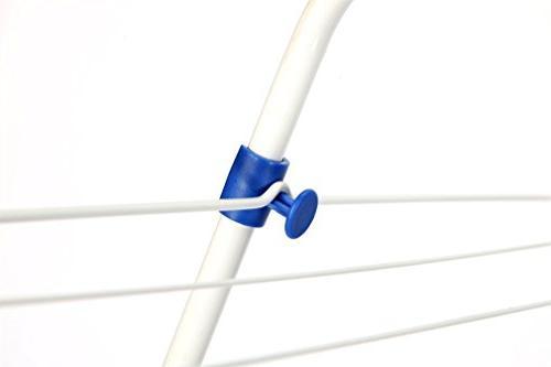 STORAGE MANIAC Indoor/Outdoor Clothes Adjustable 3-tier Drying Rack Laundry
