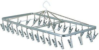 japanese clothes airer horse hanger with 30