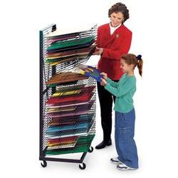 Nasco Jumbo Wall Hugger 50-Shelf Drying Rack - Arts & Crafts