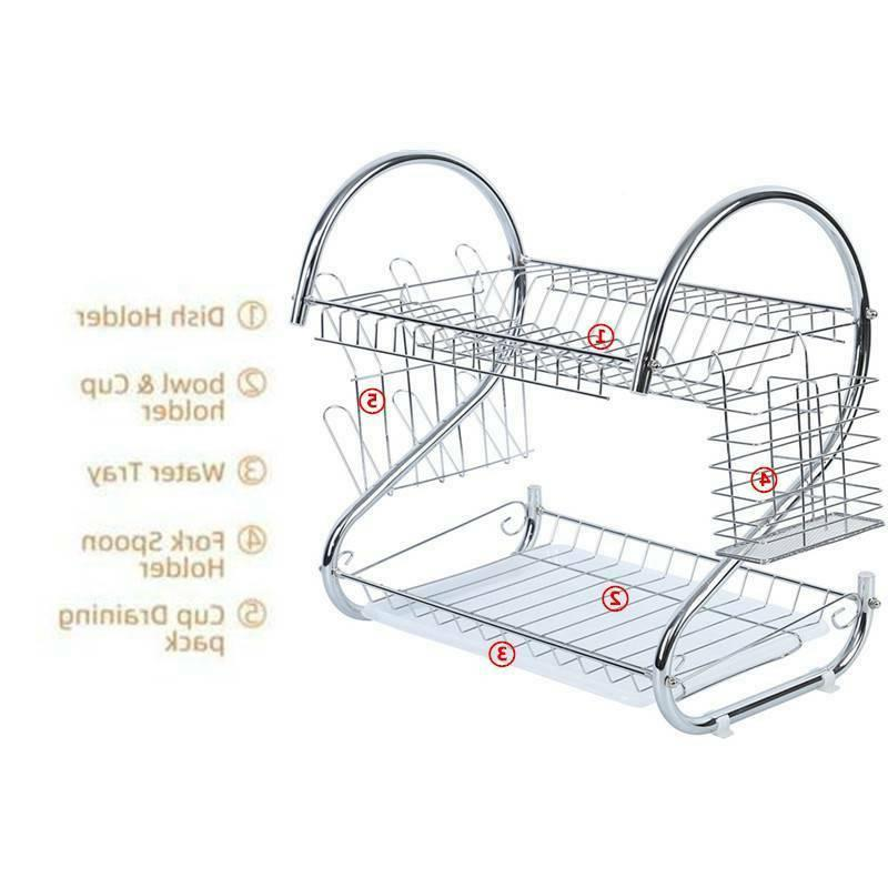 2 Tier Steel Capacity Drying Rack