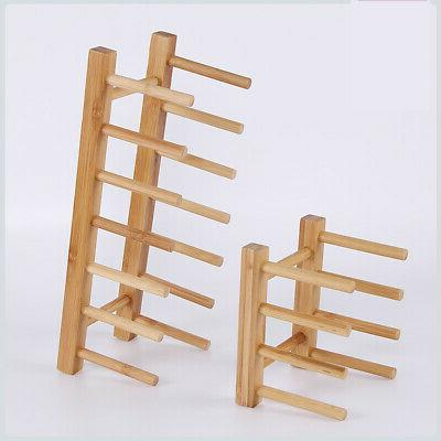 kitchen dish plate drying drain holder stand
