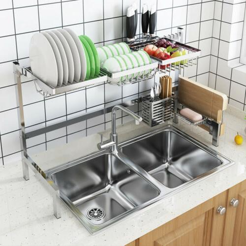 kitchen over the sink dish drying rack