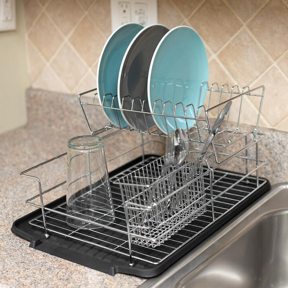 Kitchen Sink Countertop Tier Dish and