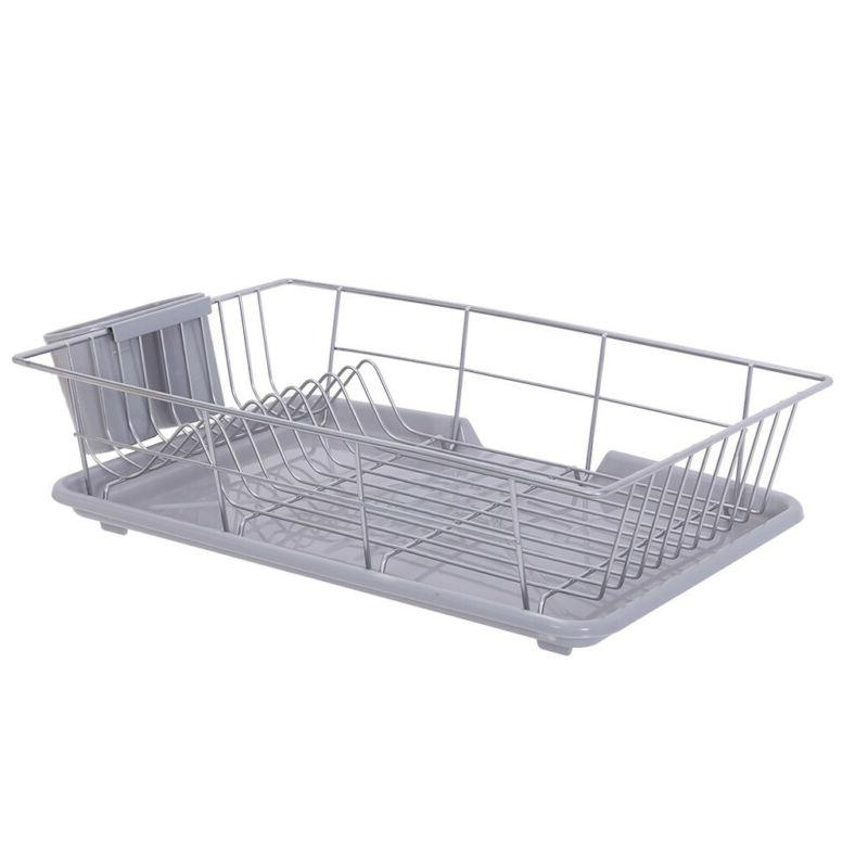 Kitchen Dish Drying Rack and with